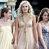 Claire, Aquamarine, and Hailey's Flowy Dresses