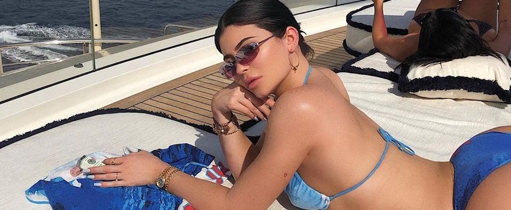 Kylie Jenner's Blue Chanel Bikini