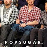 Andrew Garfield at the Lakers Game in LA | Pictures