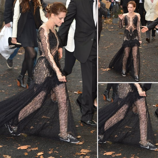 Kristen Stewart Swaps Heels For Nike Sneakers at the London Premiere of Snow White and the Huntsman