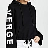 Pam & Gela Girl on the Verge Hoodie