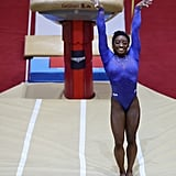 Simone Biles in World Championship After Kidney Stone 2018