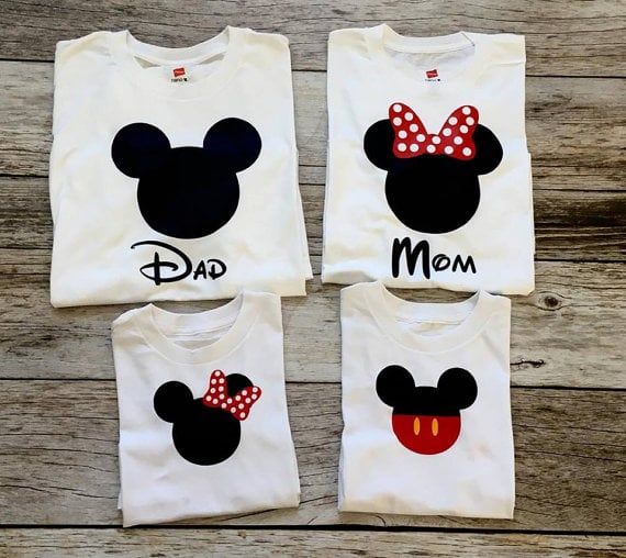 Matching Disney Family Shirts