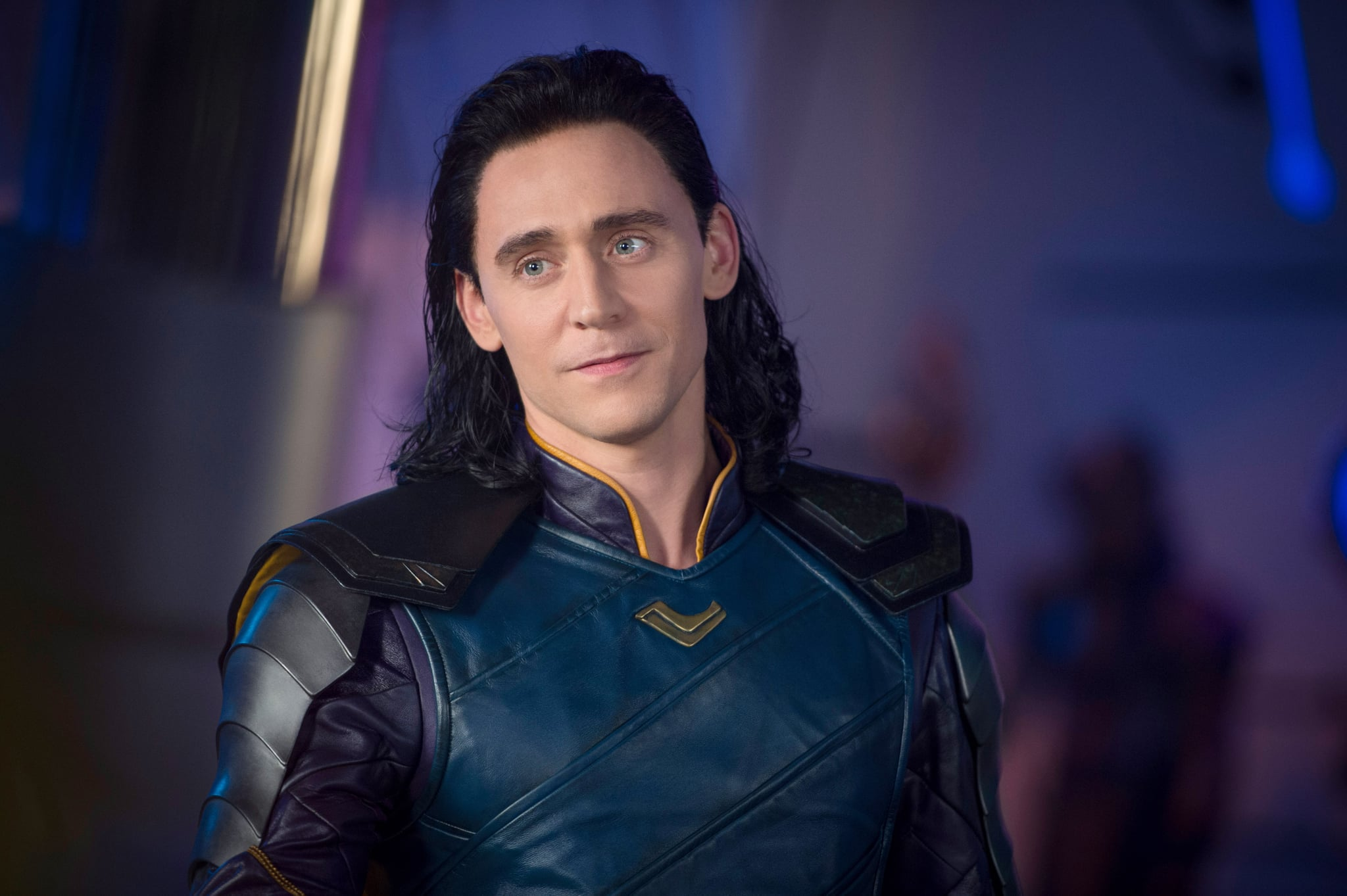 THOR: RAGNAROK, Tom Hiddleston, as Loki, 2017. ph: Jasin Boland/ Marvel /  Walt Disney Studios Motion Pictures /Courtesy Everett Collection