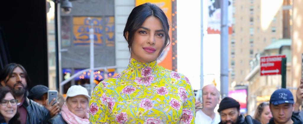 Priyanka Chopra's Floral Outfit on Good Morning America