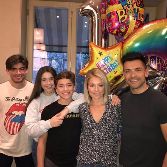 Kelly Ripa and Mark Consuelos Birthday Wishes For Joaquin