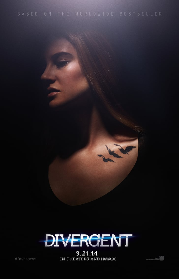 Divergent's Character Posters Are Dark and Sexy