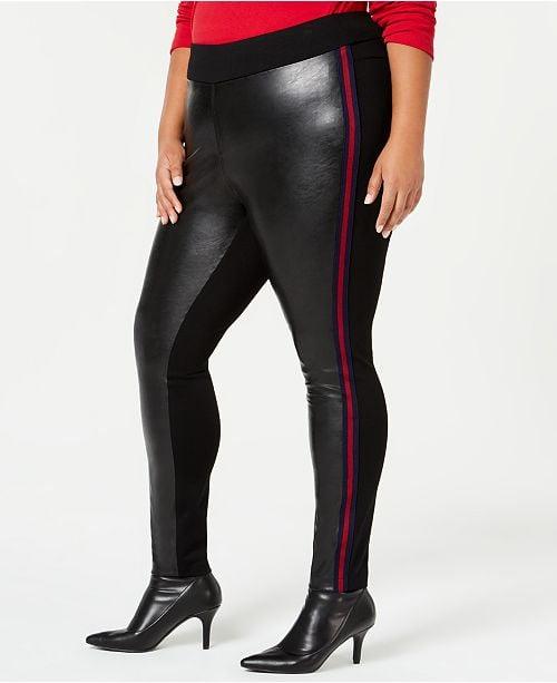 I.N.C. Faux-Leather Leggings