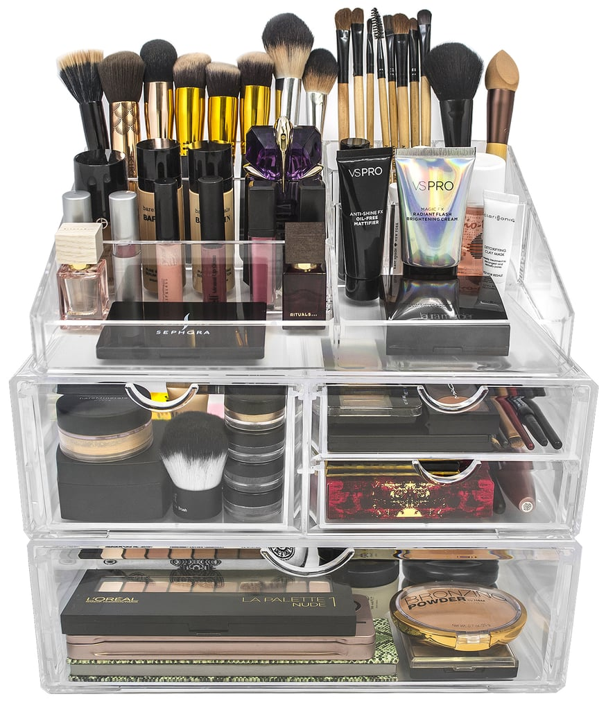 beauty product organizers popsugar beauty. Black Bedroom Furniture Sets. Home Design Ideas