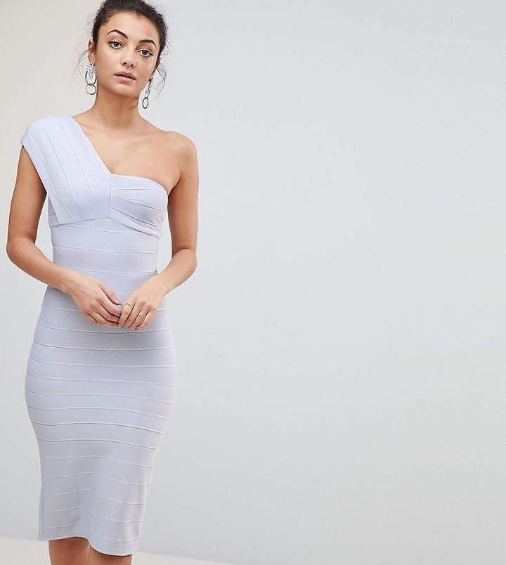 ASOS One-Shoulder Bandage Bodycon Dress | Party Dresses at ASOS ...