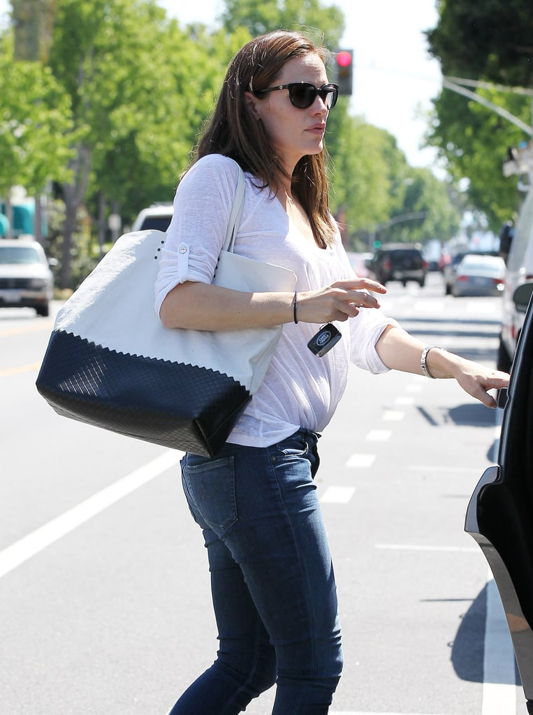 Jennifer Garner and Ben Affleck Wrap Up a Busy Week at Home