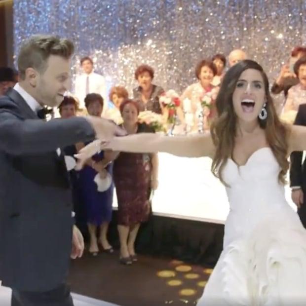 Couple Films A Music Video At Their Wedding Reception Popsugar