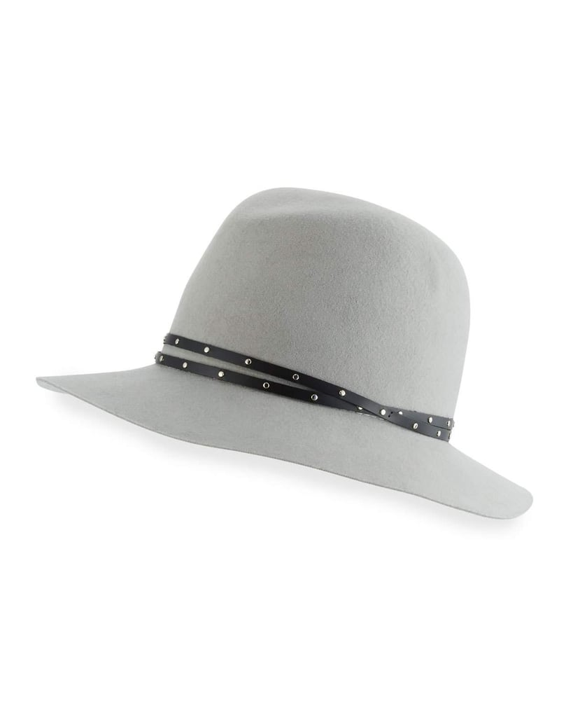 Forget the straw hat for Glastonbury; choose a white wool fedora like this Rag & Bone one instead ($225).