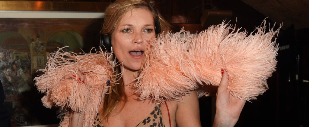 Kate Moss Is a Party Animal When It Comes to Her Clothes, Too