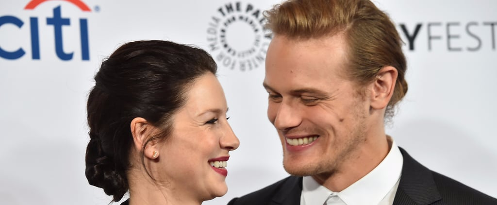 """Outlander's Sam Heughan and Caitriona Balfe Had """"Instantaneous"""" Chemistry When They First Met"""