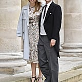 Princess Beatrice and Her Fiancé at a Royal Wedding in Paris