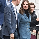 Kate Middleton's Blazer Just Went From Workwear to Outerwear Thanks to This Style Trick