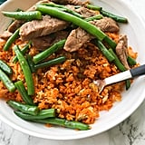 Pork and Green Bean Stir-Fry With Sweet Potato Fried Rice