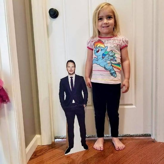 Girls Gets Chris Pratt Cut-Out For Her Birthday