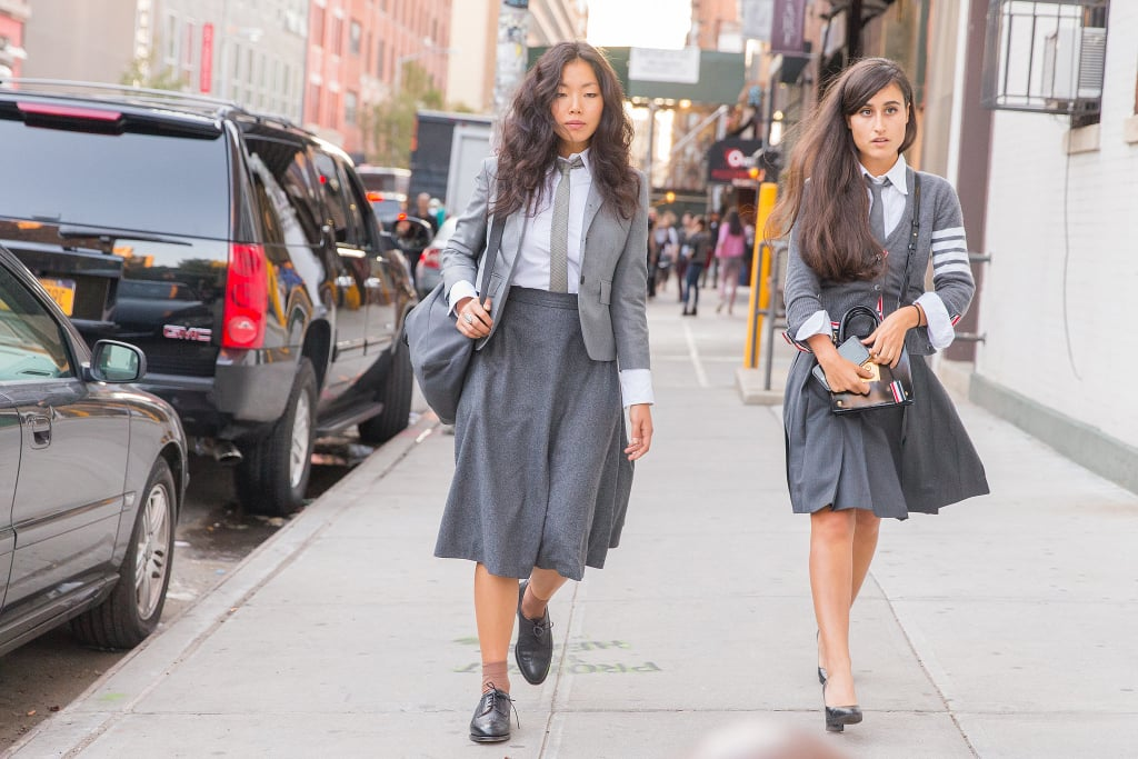 A Tie and a Schoolgirl Skirt — Because Why Not?
