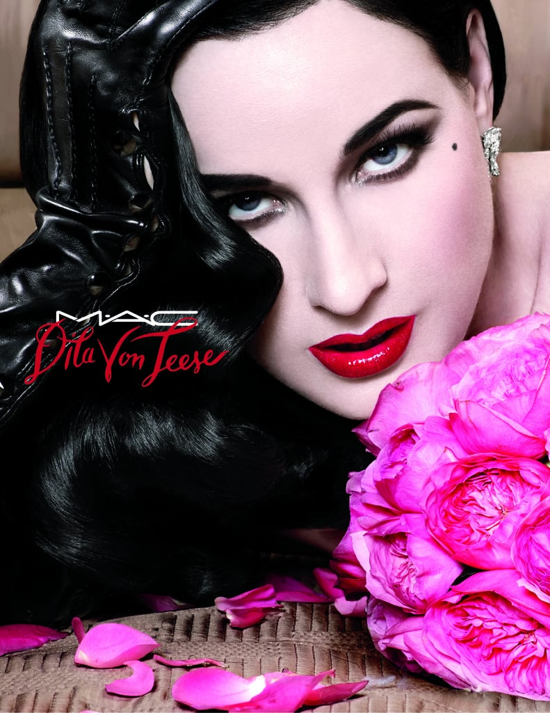 Dita Von Teese Designs Red Lipstick For MAC Cosmetics