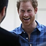 Prince Harry Visits NAZ in London November 2016