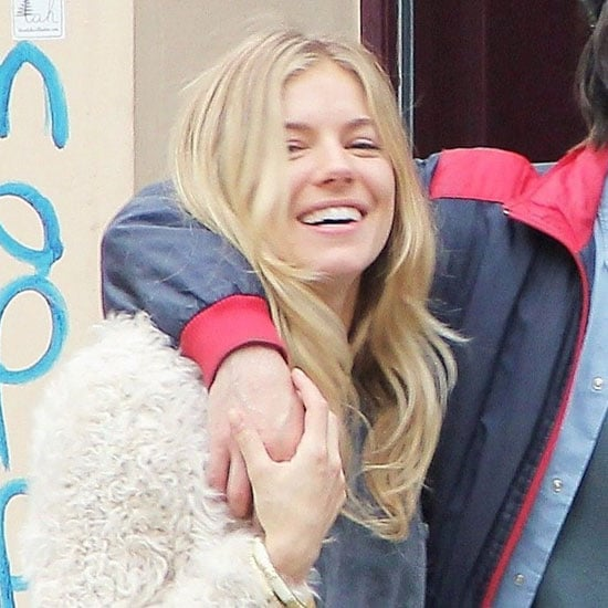 Sienna Miller and Tom Sturridge Kiss Their Way Around Vienna!