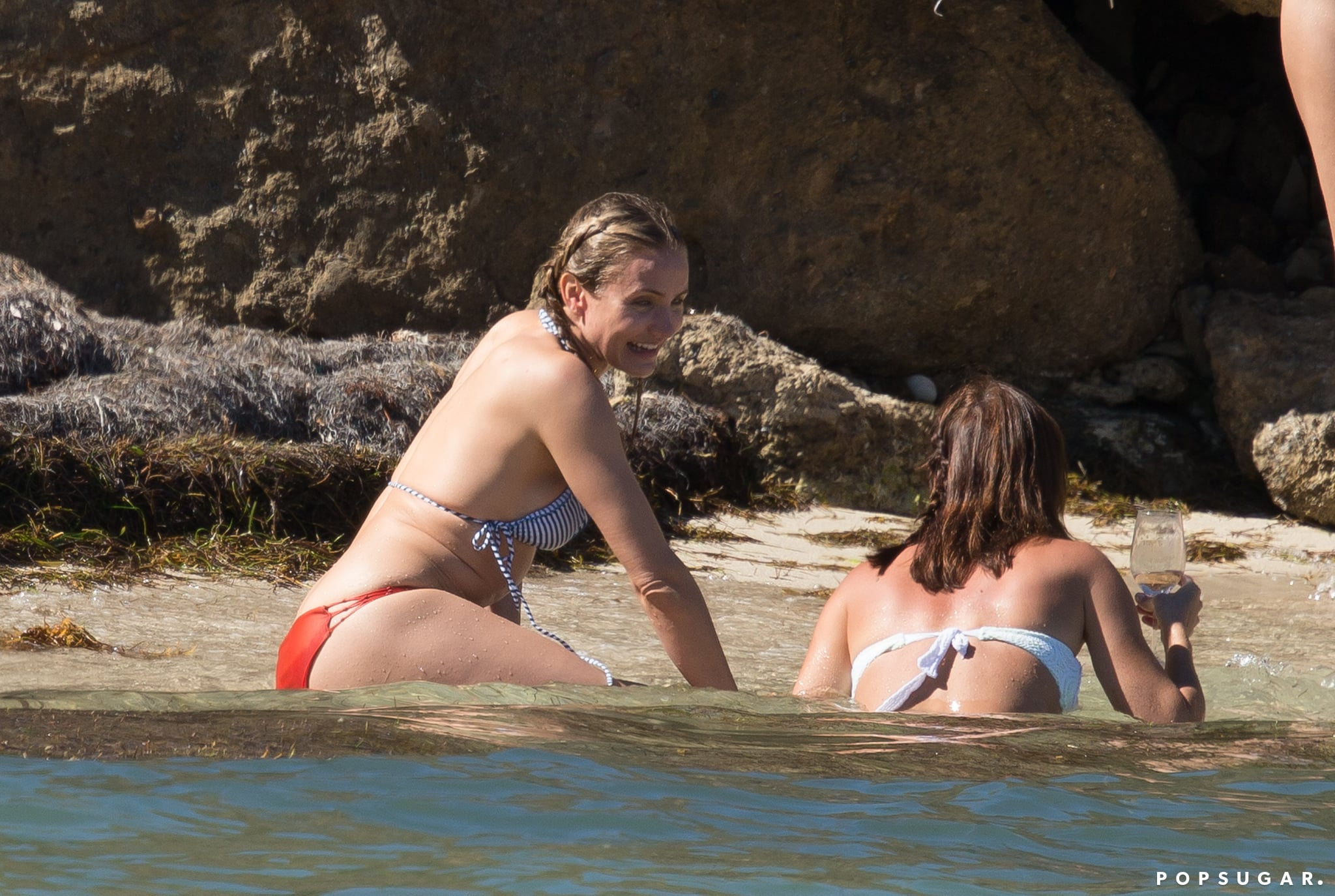 Cameron Diaz Is Having the Best Bikini Getaway Ever