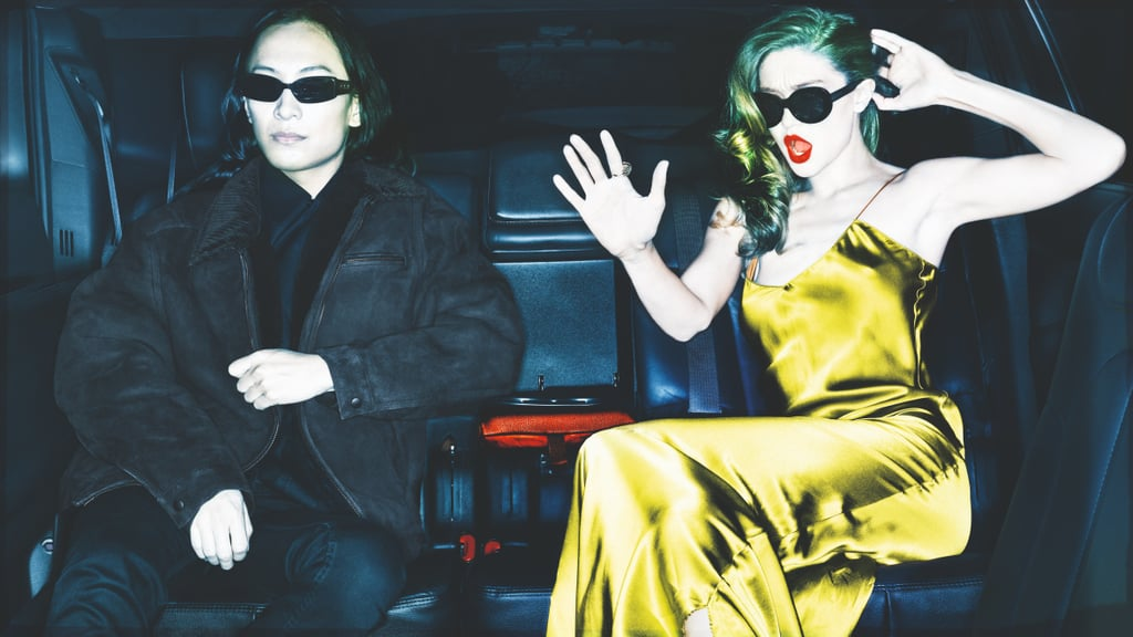 Gigi Hadid and Alexander Wang on the Pirelli Calendar 2019