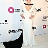 Erika Christiansen at the 2019 Elton John AIDS Foundation Academy Oscars Party