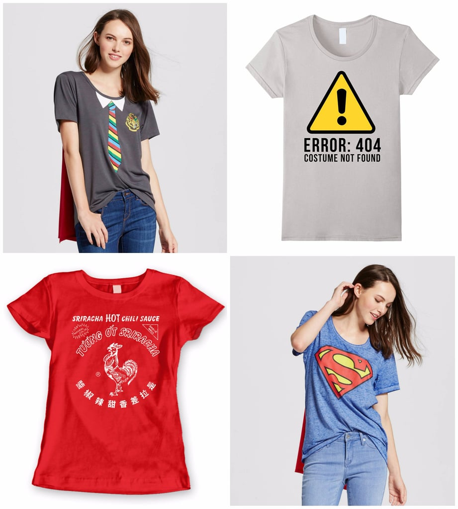 T shirt halloween costumes popsugar smart living for Costume t shirts online