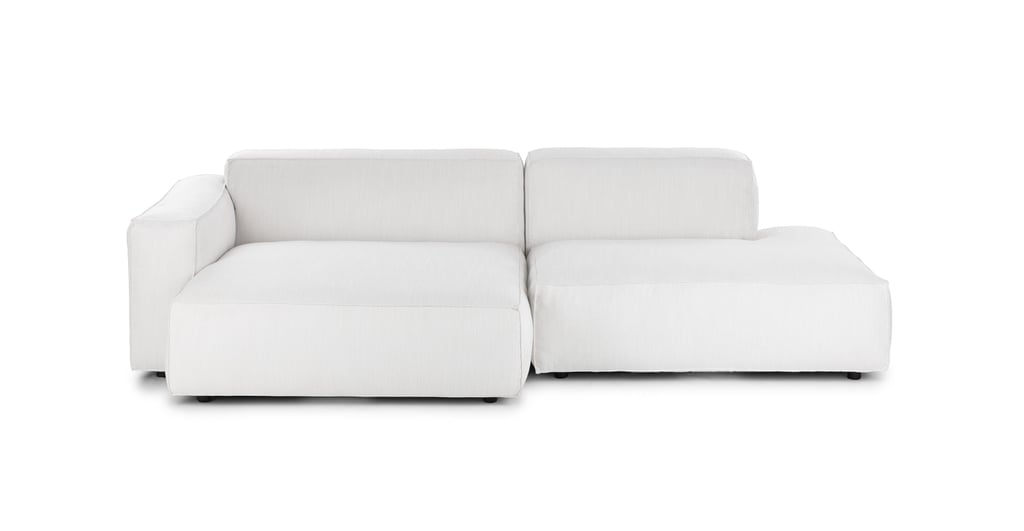 Article Solae Chill White Left Sectional