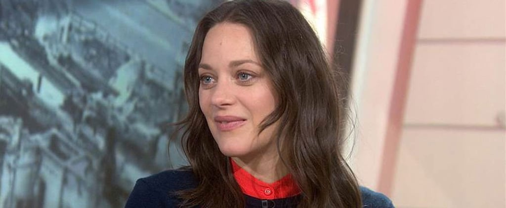 Marion Cotillard Talking About Brad Pitt on Today Show 2016