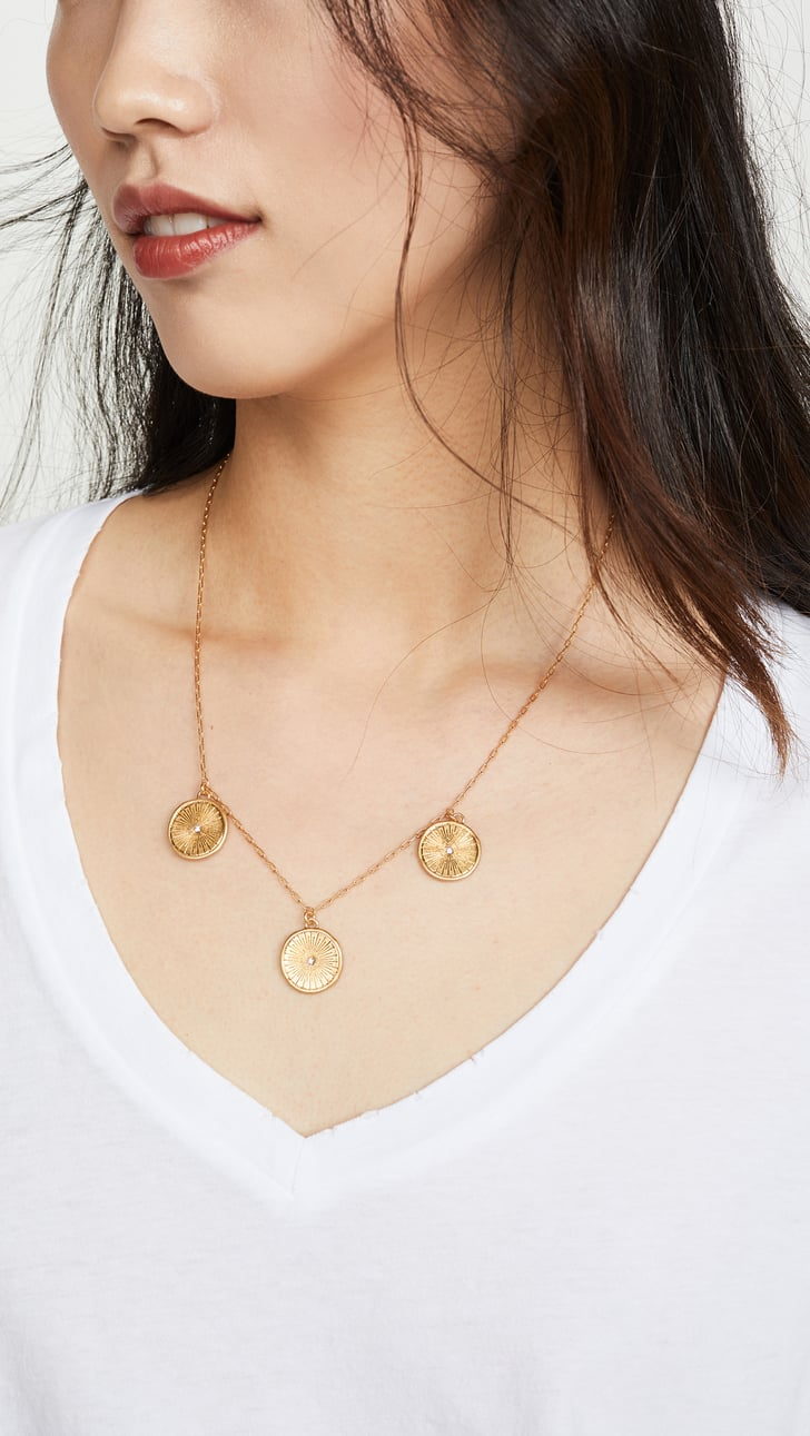 madewell coin necklace