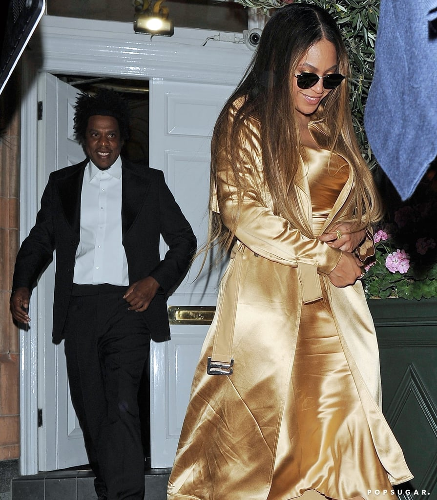 Beyoncé Looks Like a Golden Lioness in Her Date Night Outfit With JAY-Z