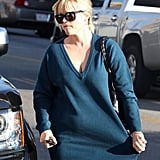 Reese Witherspoon Steps Out in Tight Pants and Knee-High Boots