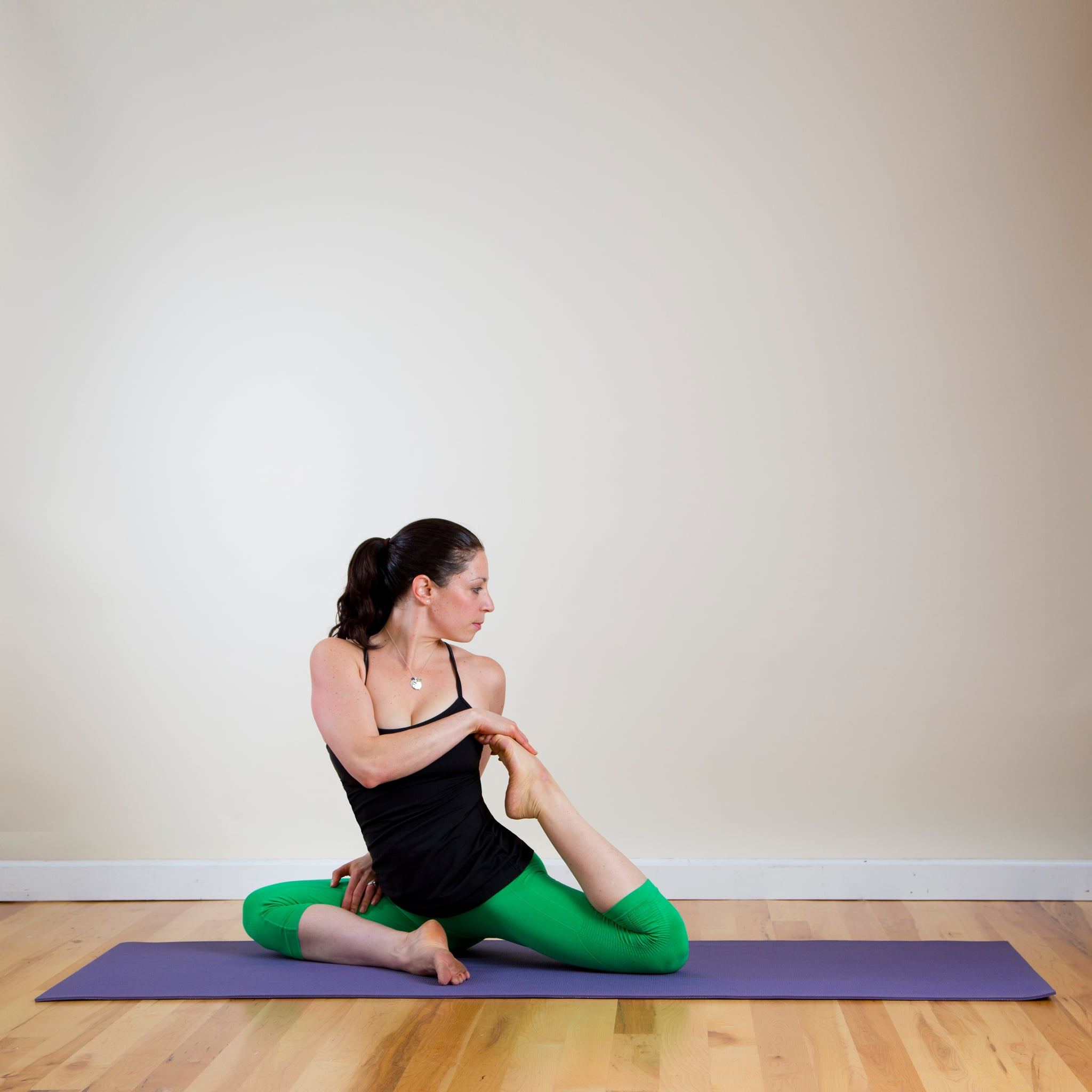 Yoga Twist Poses For The Back And Spine Popsugar Fitness
