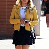 Hilary Duff Out in LA April 2016