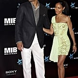 Will Smith and Jada Pinkett Smith attended the Men in Black 3 Madrid premiere, after traveling to Spain with kids Willow and Jaden.