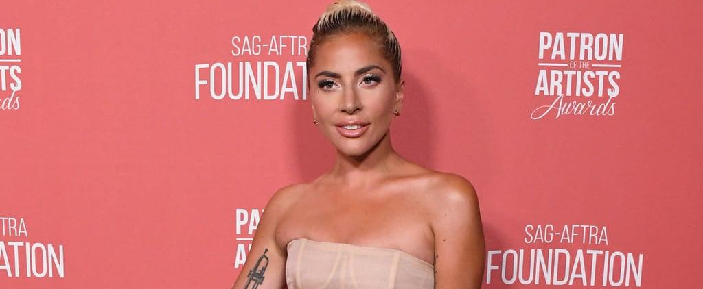 Lady Gaga Dior Dress 2018