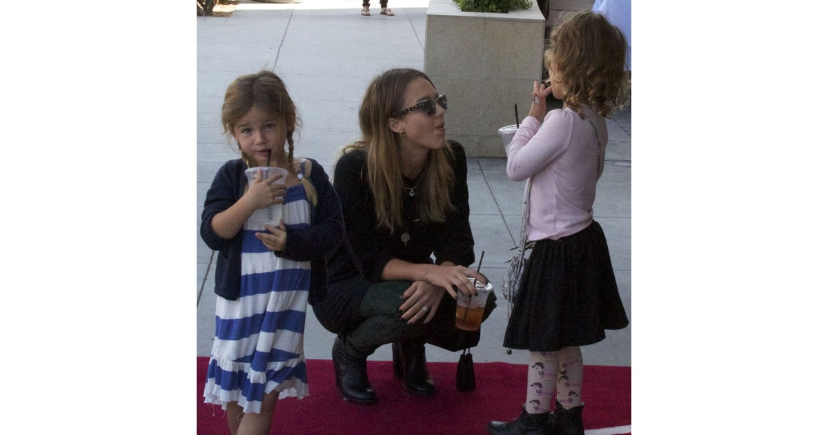 Jessica Alba and Honor Warren on Play Date
