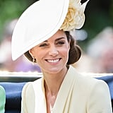 Kate Middleton Yellow Outfit at Trooping the Colour 2019