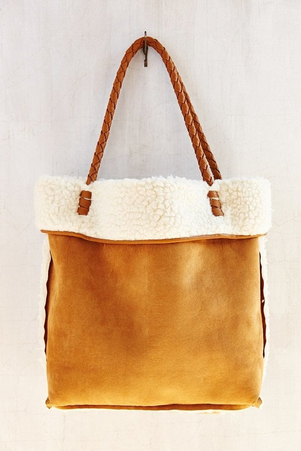 Ecote Reversible Shearling Tote Bag
