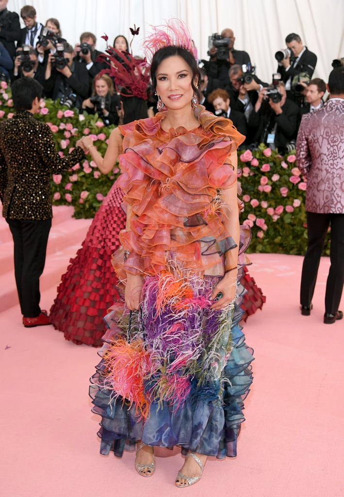Wendi Murdoch at the 2019 Met Gala