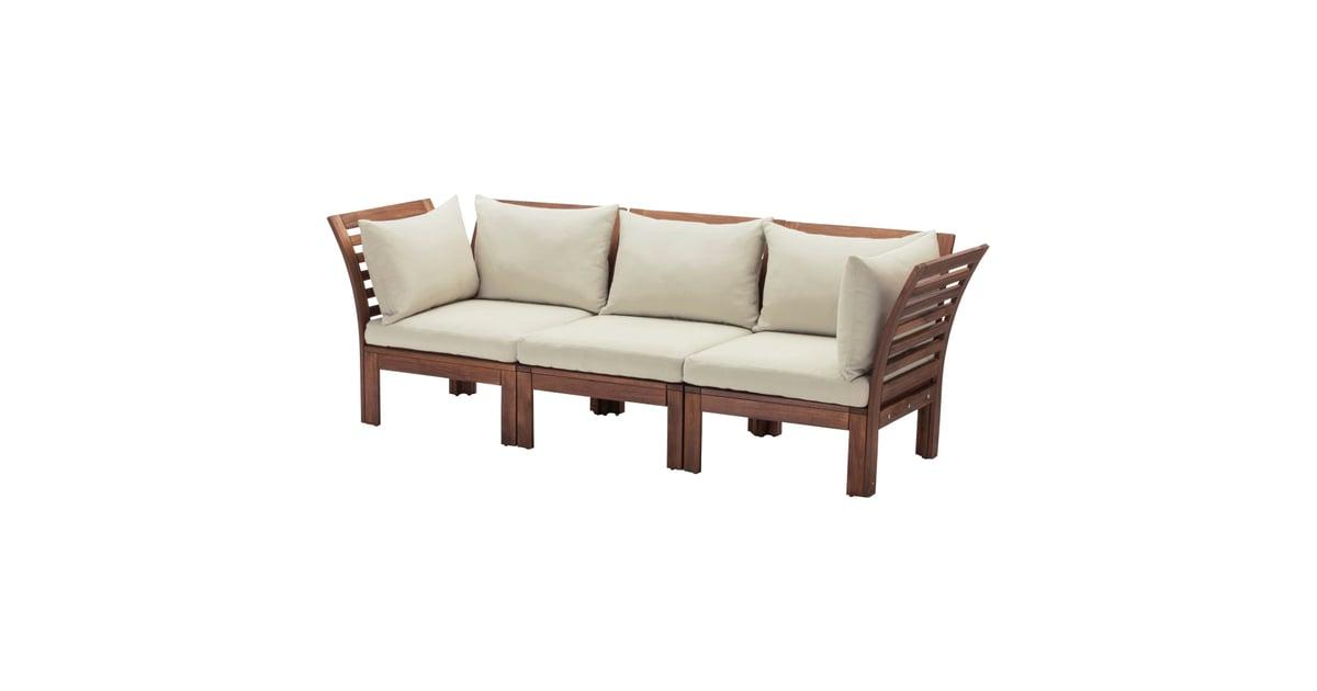 196 Pplar 246 3 Seat Modular Sofa Best Ikea Outdoor Furniture