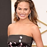 Chrissy Teigen at 2014 Oscars