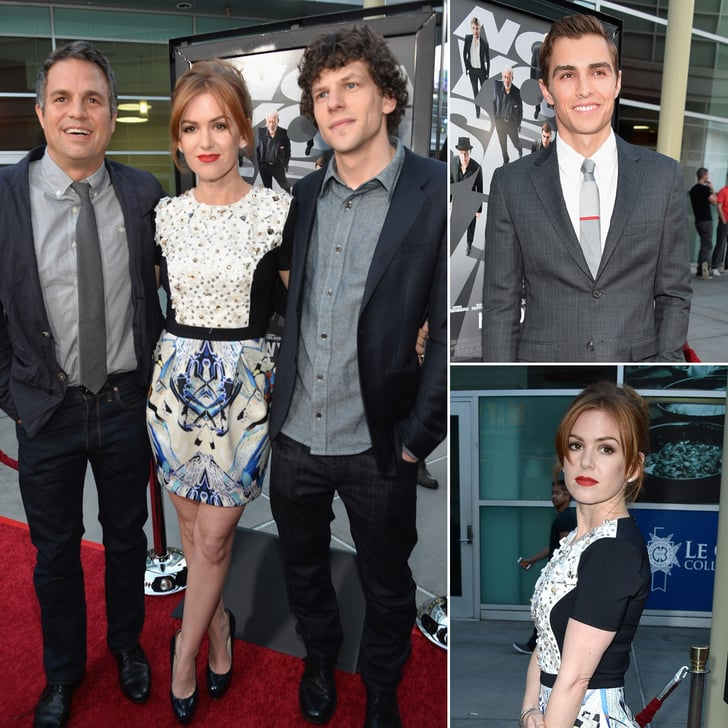 The Jet-Setting Cast of Now You See Me Lands in LA