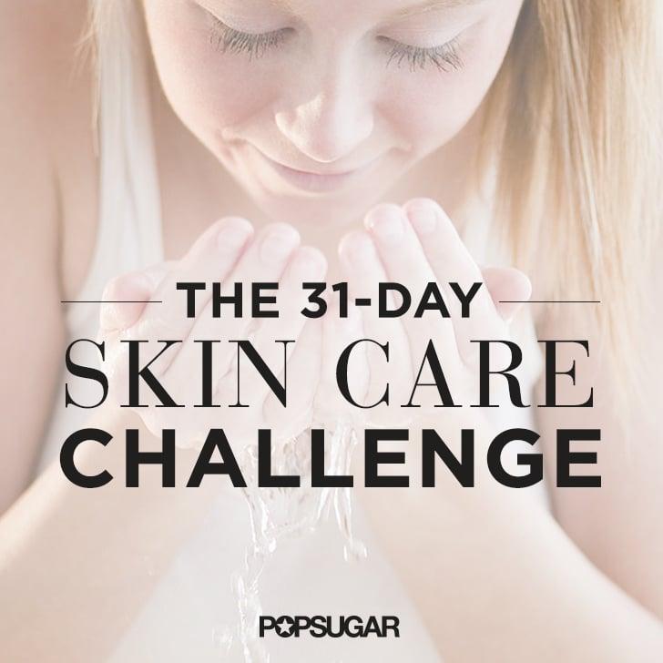 Good Skincare Challenge Calendar 2015