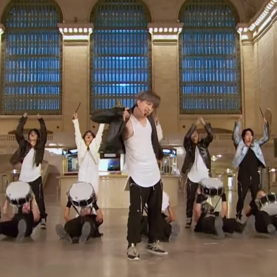 "BTS Performs ""On"" at Grand Central on The Tonight Show Video"
