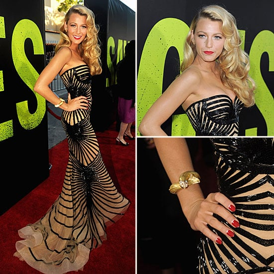 Pictures of Blake Lively at the Savages LA Premiere: See Her Sexy Nude and Black Zuhair Murad Gown From All Angles